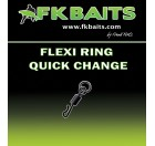 25 FLEXI RING QUICK CHANGE size 8 matt black
