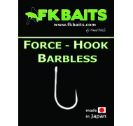 HAMEÇON CARPE FORCE HOOK BARBLESS