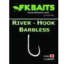 HAMEÇON RIVER-HOOK BARBLESS