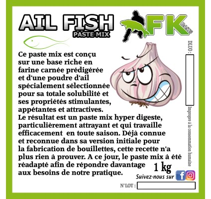 AIL FISH Paste mix
