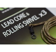 LEADCORE & ROLLING SWIVEL